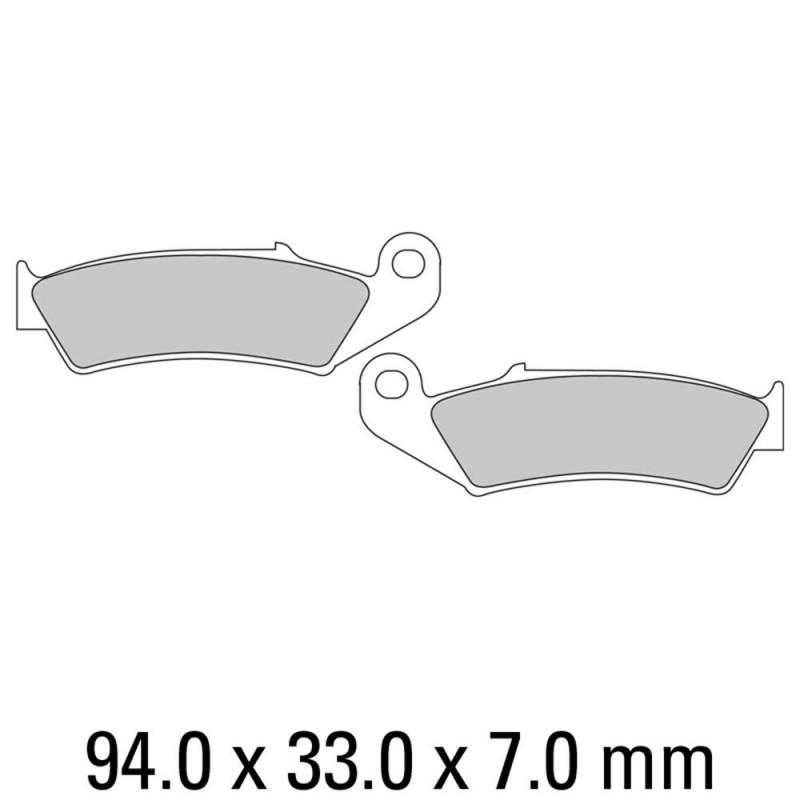 Накладки FERODO FDB495P