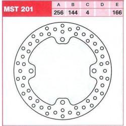Преден спирачен диск LUCAS/TRW MST201