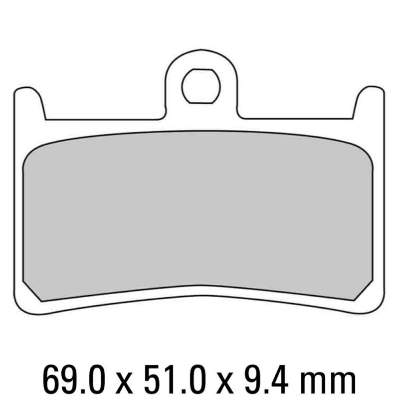 Накладки FERODO FDB605P