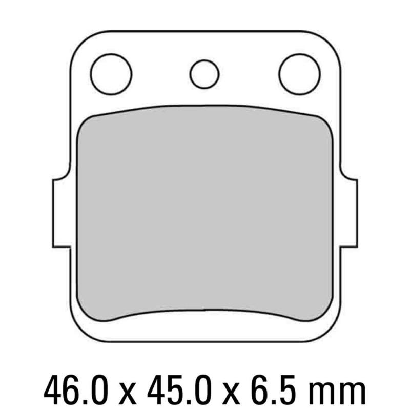 Накладки FERODO FDB661P