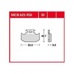 Мото накладки TRW MCB625SI