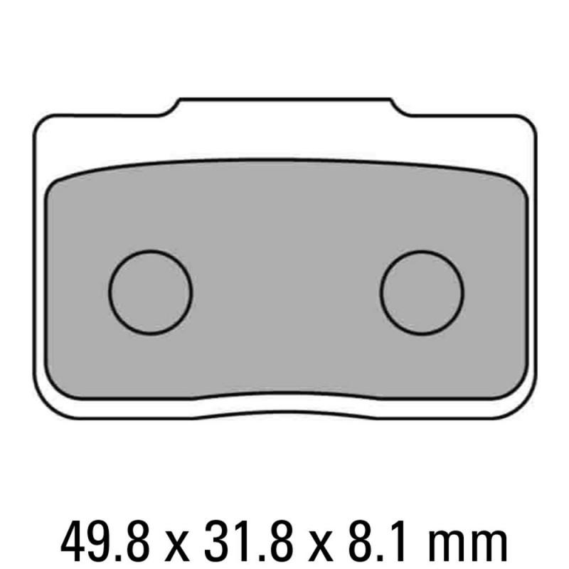 Накладки FERODO FDB2170P