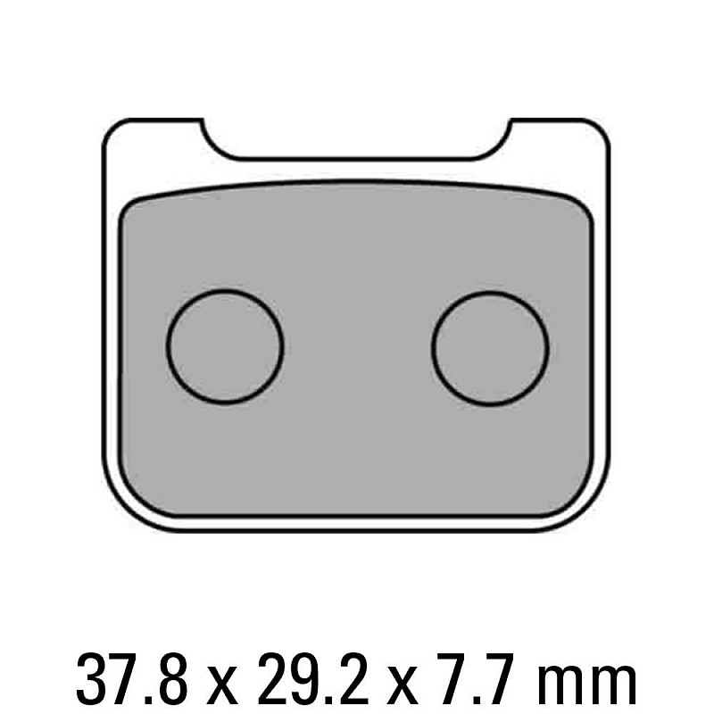 Накладки FERODO FDB2171P