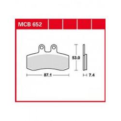 Мото накладки TRW MCB652