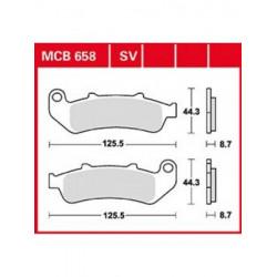 Мото накладки TRW MCB658SV