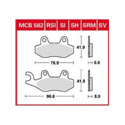 Мото накладки TRW MCB582SH