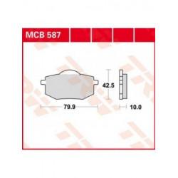 Мото накладки TRW MCB587