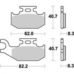 Мотокрос накладки BREMBO 07GR73SX