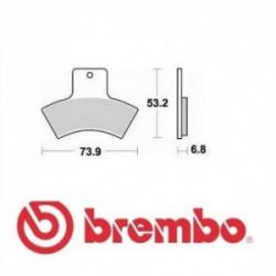 Мотокрос накладки BREMBO 07PO04SD