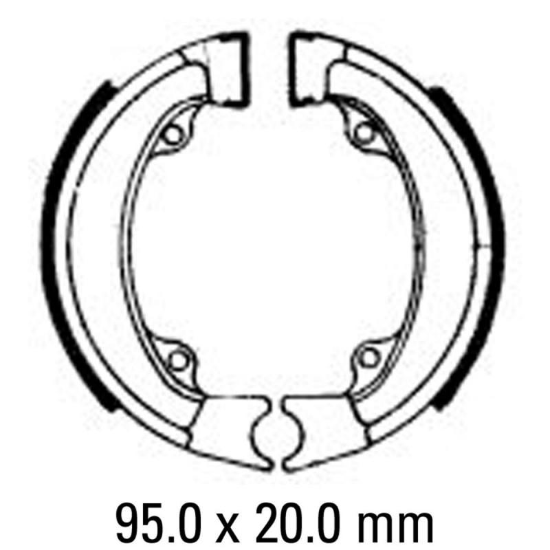 Предни/Задни мото накладки FERODO FSB703