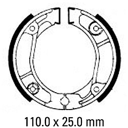 Предни/Задни мото накладки FERODO FSB705
