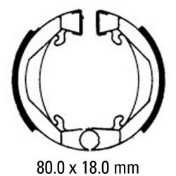 Предни/Задни мото накладки FERODO FSB712