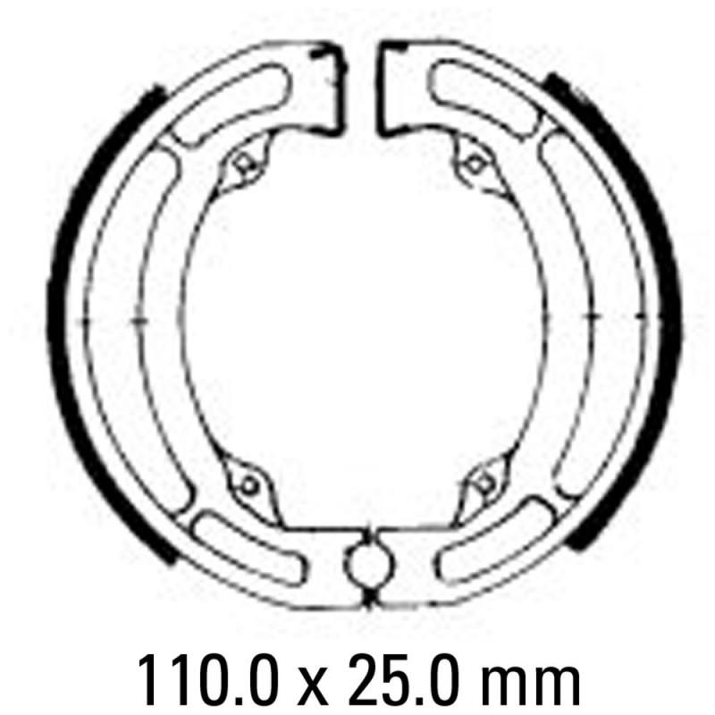 Предни/Задни мото накладки FERODO FSB723