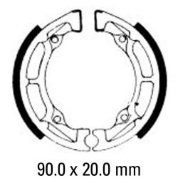 Предни/Задни мото накладки FERODO FSB726
