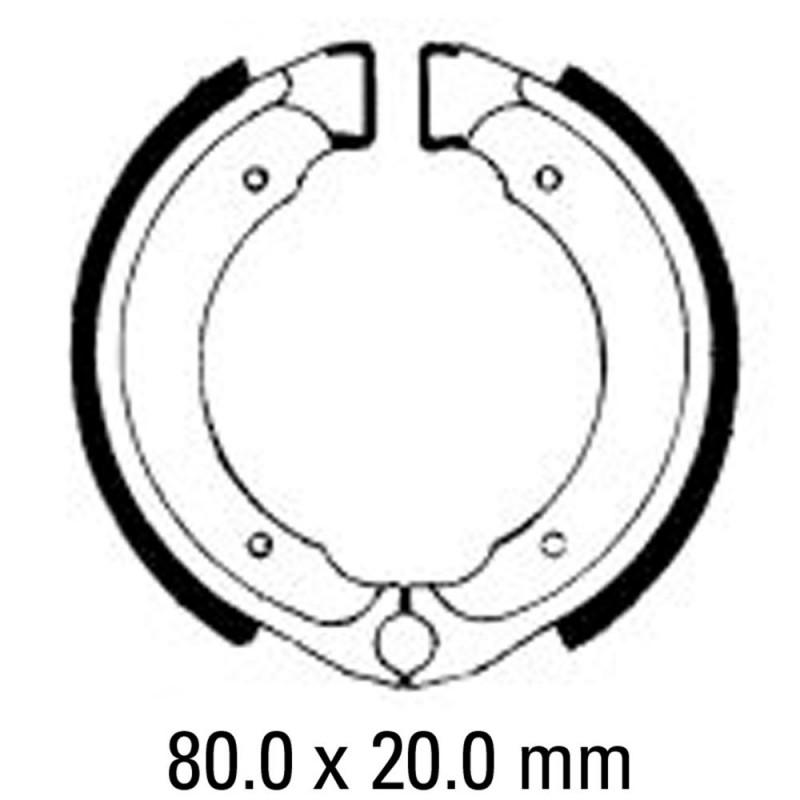 Предни/Задни мото накладки FERODO FSB727