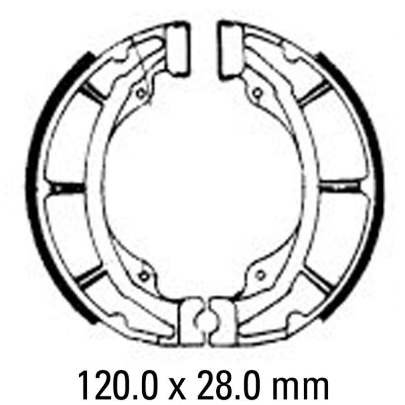 Предни/Задни мото накладки FERODO FSB728