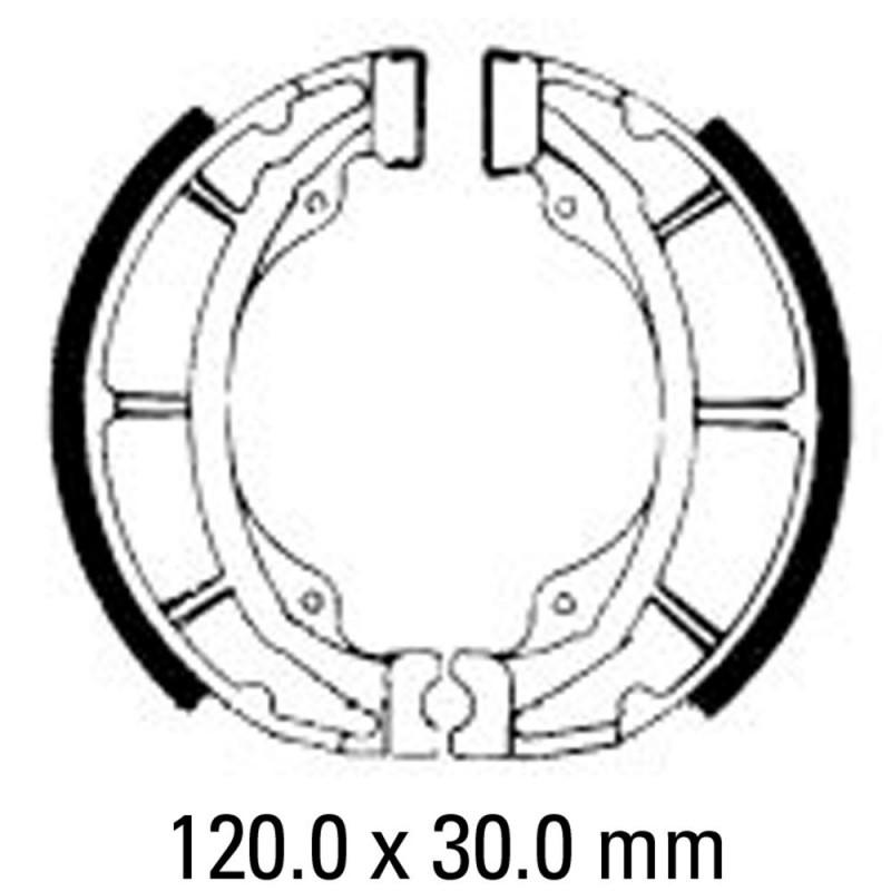 Предни/Задни мото накладки FERODO FSB729