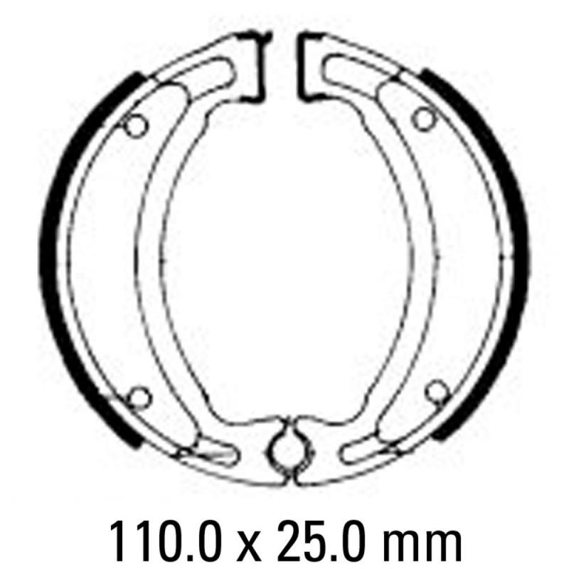 Предни/Задни мото накладки FERODO FSB731