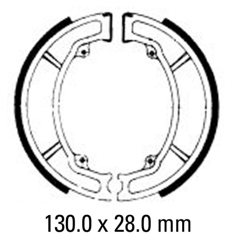 Предни/Задни мото накладки FERODO FSB733