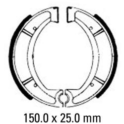 Предни/Задни мото накладки FERODO FSB734