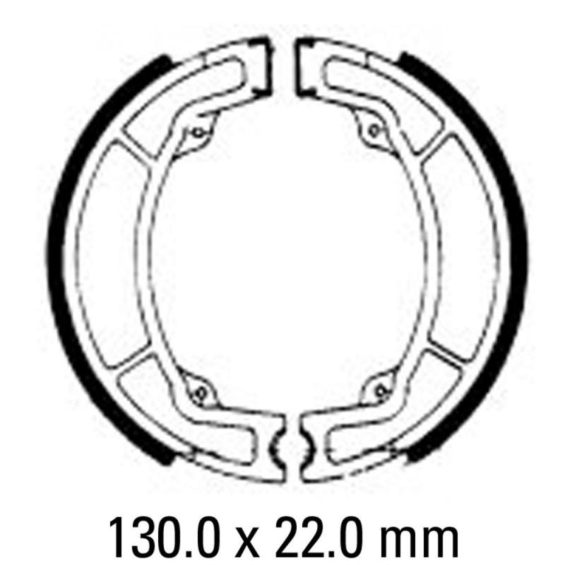 Предни/Задни мото накладки FERODO FSB737