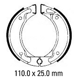 Предни/Задни мото накладки FERODO FSB738