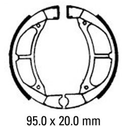 Предни/Задни мото накладки FERODO FSB739