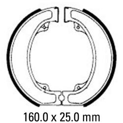 Предни/Задни мото накладки FERODO FSB743