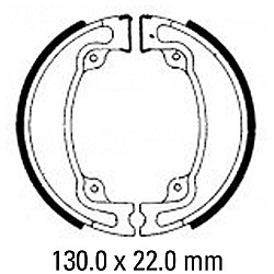 Предни/Задни мото накладки FERODO FSB746