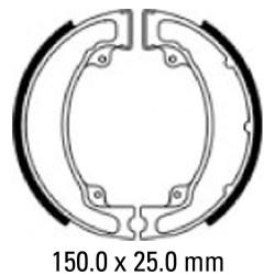 Задни мото накладки FERODO FSB750