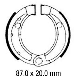 Предни мото накладки FERODO FSB753