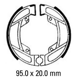 Предни/Задни мото накладки FERODO FSB754