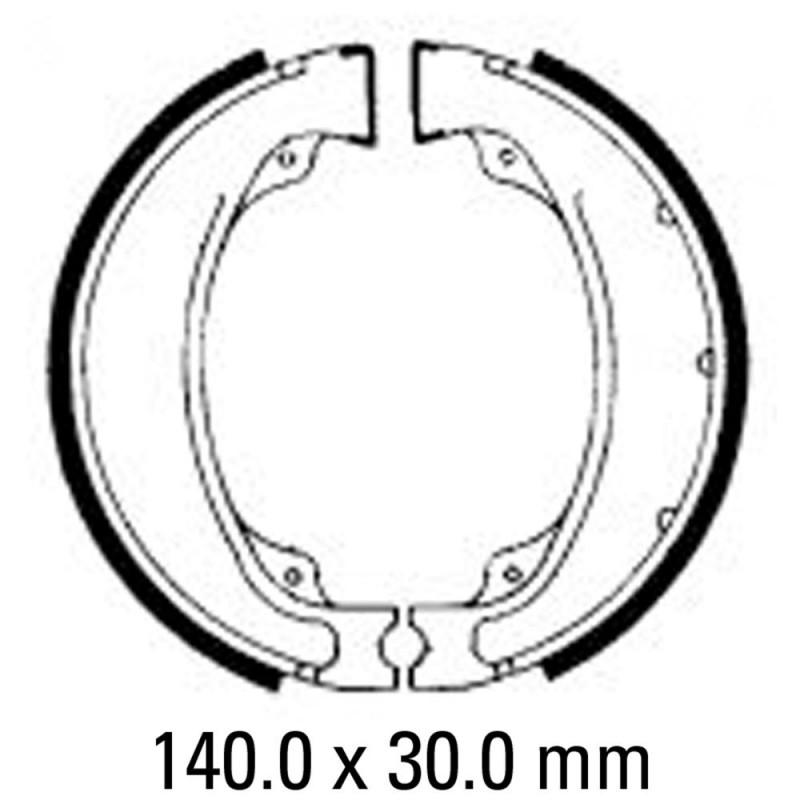 Задни мото накладки FERODO FSB755