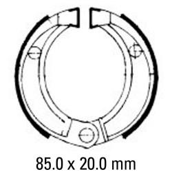 Предни/Задни мото накладки FERODO FSB756