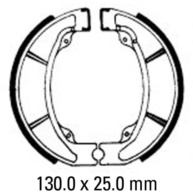 Задни мото накладки FERODO FSB757
