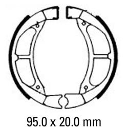 Предни/Задни мото накладки FERODO FSB764