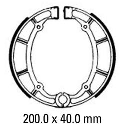 Задни мото накладки FERODO FSB765