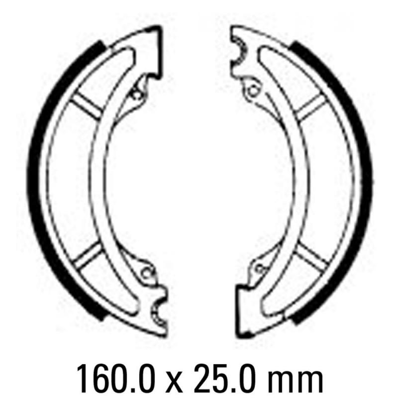 Предни/Задни мото накладки FERODO FSB767