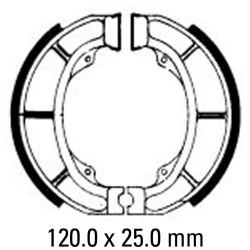 Предни/Задни мото накладки FERODO FSB777