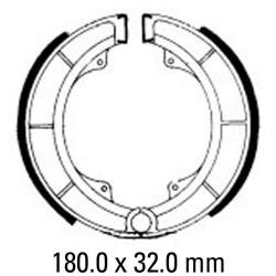Задни мото накладки FERODO FSB780