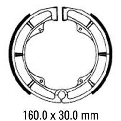 Задни мото накладки FERODO FSB790