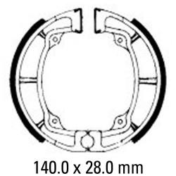 Предни/Задни мото накладки FERODO FSB799