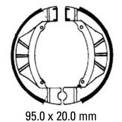 Предни мото накладки FERODO FSB801