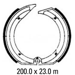 Задни мото накладки FERODO FSB805