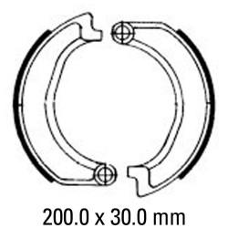 Предни мото накладки FERODO FSB806