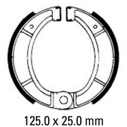 Предни/Задни мото накладки FERODO FSB807