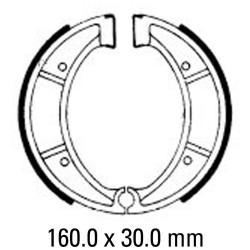 Предни/Задни мото накладки FERODO FSB812
