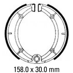 Предни/Задни мото накладки FERODO FSB818