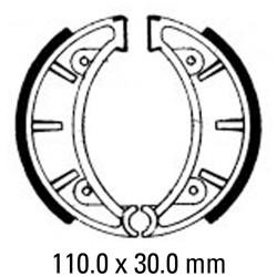Предни/Задни мото накладки FERODO FSB820