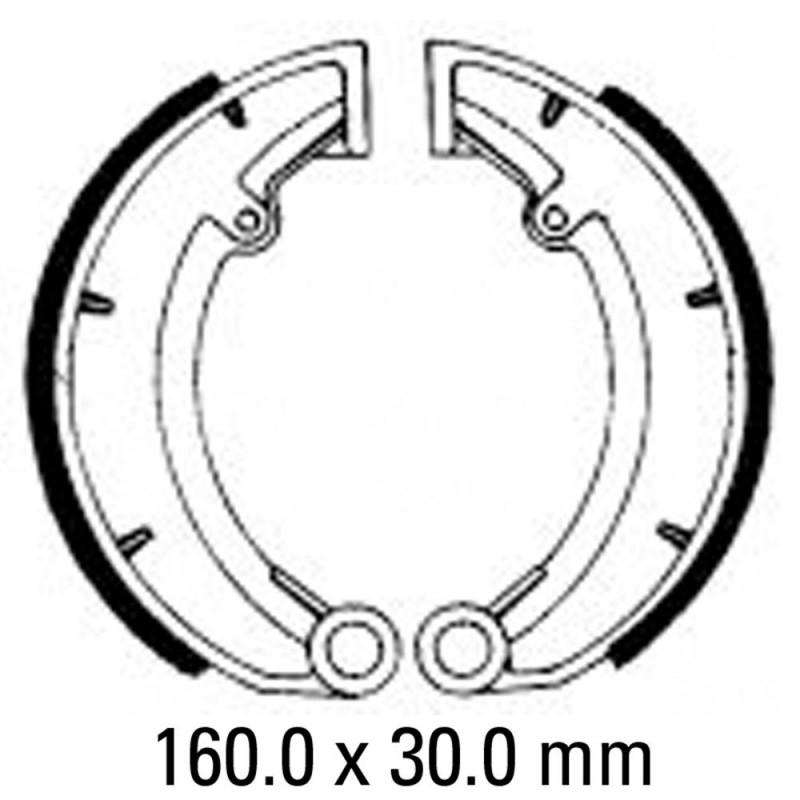 Предни/Задни мото накладки FERODO FSB823